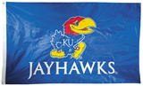 NCAA Kansas Jayhawks 2-sided Flag with Grommets Flag