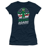 Juniors: Gumby- For President, Make America Green Again T-shirts
