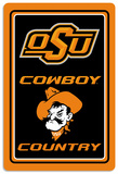 NCAA Oklahoma State Cowboys Tin Sign