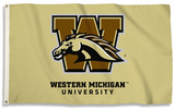 NCAA Western Michigan Broncos Flag with Grommets Flag