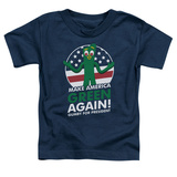Toddler: Gumby- For President, Make America Green Again Shirts