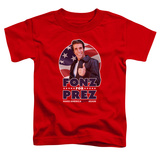 Toddler: Happy Days- Fonz For Prez T-Shirt