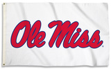 NCAA Mississippi Rebels Flag with Grommets Flag