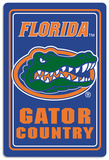 NCAA Florida Gators Tin Sign