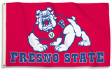 NCAA Fresno State Flag with Grommets Flag
