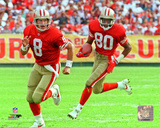 Steve Young & Jerry Rice 1992 Action Photo