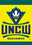 NCAA UNC Wilmington 2-Sided Garden Flag Flag