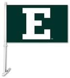 NCAA Eastern Michigan Eagles Car Flag with Wall Bracket Flag