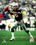 Jim Plunkett 1982 Action Photo