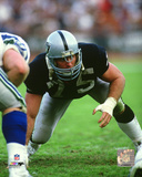 Howie Long 1985 Action Photo