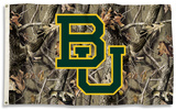 NCAA Baylor Bears Realtree Camo Flag with Grommets Flag