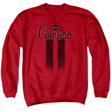 Crewneck Sweatshirt: Chevrolet- Camaro Asphalt Stripes T-Shirt