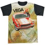 Chevrolet- Vega Chill Black Back T-shirts