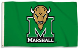 NCAA Marshall Thunderiing Herd Flag with Grommets Flag
