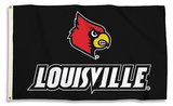 NCAA Louisville Cardinals Flag with Grommets Flag