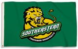 NCAA SE Louisianna Lions Flag with Grommets Flag