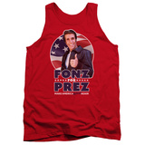 Tank Top: Happy Days- Fonz For Prez Tank Top