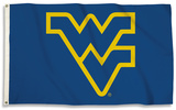 NCAA West Virginia Mountaineers Flag with Grommets Flag