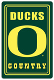 NCAA Oregon Ducks Tin Sign
