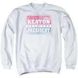 Crewneck Sweatshirt: Family Ties- Alex For President Shirts