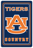 NCAA Auburn Tigers Tin Sign