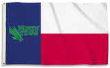 NCAA North Texas Mean Green Flag with Grommets Flag