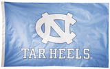 NCAA North Carolina Tar Heels 2-sided Flag with Grommets Flag
