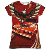 Juniors: Pontiac- Firebird Phoenix Flight T-shirts