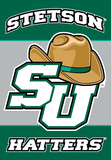 NCAA Stetson 2-Sided Banner with Pole Sleeve Flag