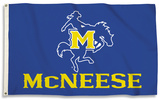 NCAA McNeese St. Cowboys Flag with Grommets Flag