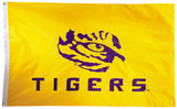 NCAA LSU Tigers 2-sided Flag with Grommets Flag
