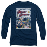 Long Sleeve: Wonder Woman- For President 100 Years In The Future T-Shirt