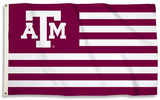 NCAA Texas A & M Aggies Flag with Grommets Flag