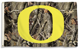 NCAA Oregon Ducks Realtree Camo Flag with Grommets Flag