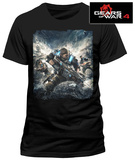 Gears Of War 4- Game Cover (Front/Back) (Slim Fit) T-Shirt