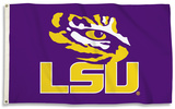 NCAA LSU Tigers Flag with Grommets Flag