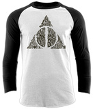 Harry Potter- Deathly Hollow Combined (Raglan) T-Shirts