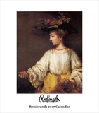 Rembrandt- 2017 Easel Calendar Calendars