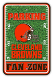 NFL Cleveland Browns Field Zone Parking Sign Wall Sign
