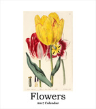 Flowers - 2017 Easel Calendar Calendars
