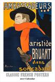 Classic French Posters Calendar - 2017 Calendar Calendars