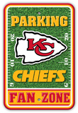 NFL Kansas City Chiefs Field Zone Parking Sign Wall Sign