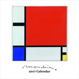 Modrian - 2017 Calendar Calendars