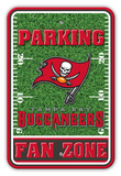 NFL Tampa Bay Buccaneers Field Zone Parking Sign Wall Sign