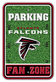 NFL Atlanta Falcons Field Zone Parking Sign Wall Sign