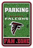NFL Atlanta Falcons Field Zone Parking Sign Wall Sign