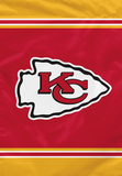 NFL Kansas City Chiefs House Banner Flag