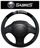 NHL Buffalo Sabres Poly-Suede Steering Wheel Cover Auto Accessories