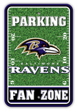 NFL Baltimore Ravens Field Zone Parking Sign Wall Sign