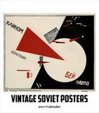 Vintage Soviet Posters- 2017 Easel Calendar Calendars